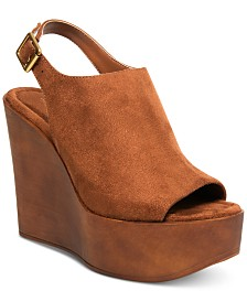 Madden Girl Cambur Wooden Platforms