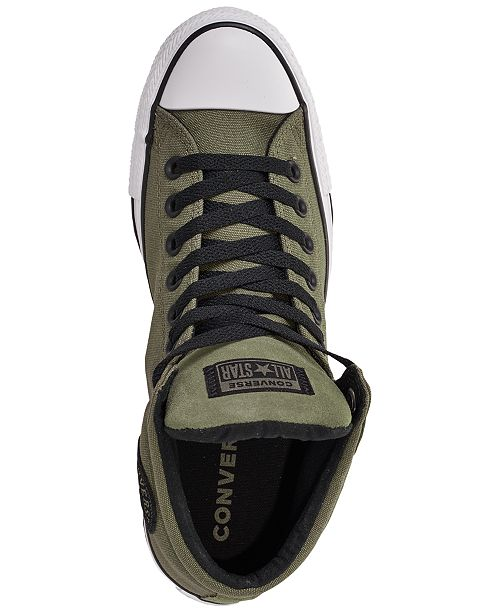 5e31a0ec149ac1 ... Converse Men s Chuck Taylor All Star High Street High Top Uniform  Canvas Casual Sneakers from Finish ...