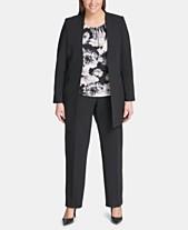 5edc2f1c11a Calvin Klein Plus Size Suits - Macy s