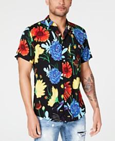 Reason Men's Devour Floral Shirt