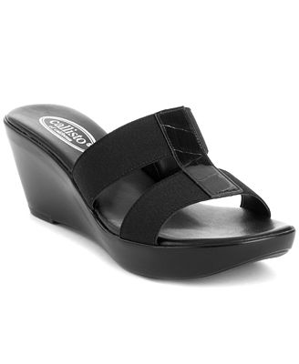 Callisto Ali Wedge Sandals