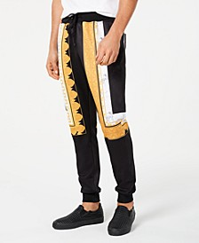 Men's Marble & Gold Track Pants