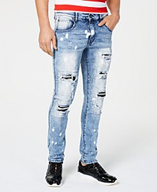 Men's Inwood Slim-Fit Ripped Jeans
