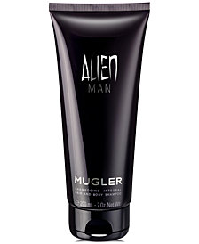 Mugler Men's ALIEN MAN Hair & Body Shampoo, 7-oz.
