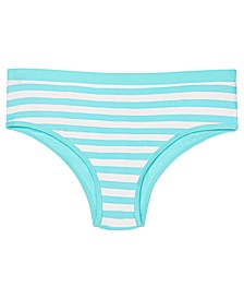 Big Girls Striped Bikini Bottom, Created for Macy's