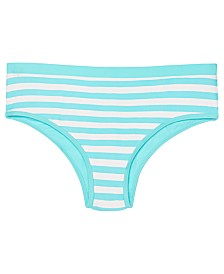 Ideology Big Girls Striped Bikini Bottom, Created for Macy's