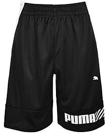 Puma Big Boys Logo Shorts
