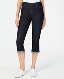 Lee 5-Pocket Capri Jeans