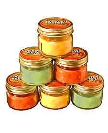 Lumabase Set of 6, 3Oz Citronella Candles in Mason Jars
