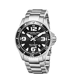 Stuhrling Original Men's Swiss Quartz Diver Watch