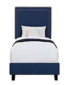 Emery Upholstered Twin Platform Bed