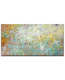 """'Inspiration' Abstract Canvas Wall Art - 18"""" x 36"""""""