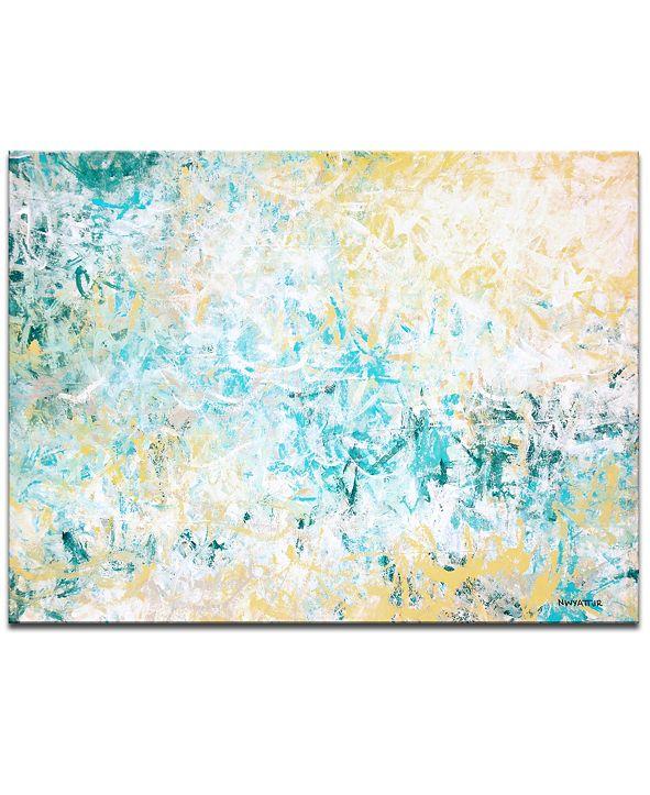 "Ready2HangArt 'Euphoria' Abstract Canvas Wall Art - 20"" x 30"""