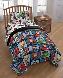 Marvel Avengers Marvel Team Twin 4-Pc. Bed in a Bag
