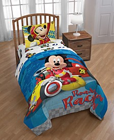 Mickey Mouse Clubhouse Roadster Racer Reversible Twin Comforter