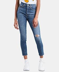 Ripped Skinny Wedgie Jeans