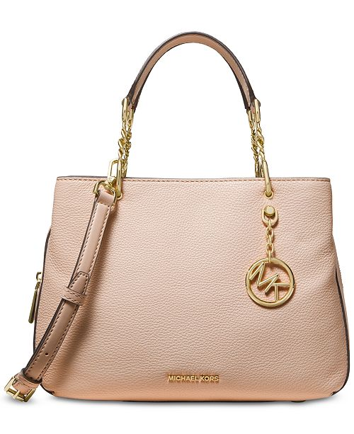 e4aae9dfbc48d Michael Kors Lillie Pebble Leather Satchel   Reviews - Handbags ...