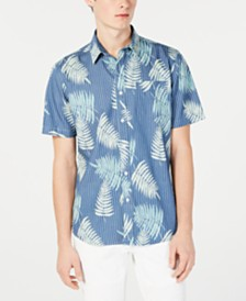American Rag Men's Scout Floral Shirt