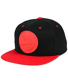 Mitchell & Ness Atlanta Hawks Rubber Weld Snapback Cap