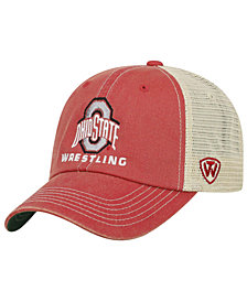 Top of the World Ohio State Buckeyes Wrestling Mesh Adjustable Snapback Cap