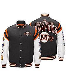 G-III Sports Men's San Francisco Giants Home Team Commemorative Varsity Jacket