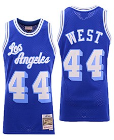 Men's Jerry West Los Angeles Lakers Hardwood Classic Swingman Jersey