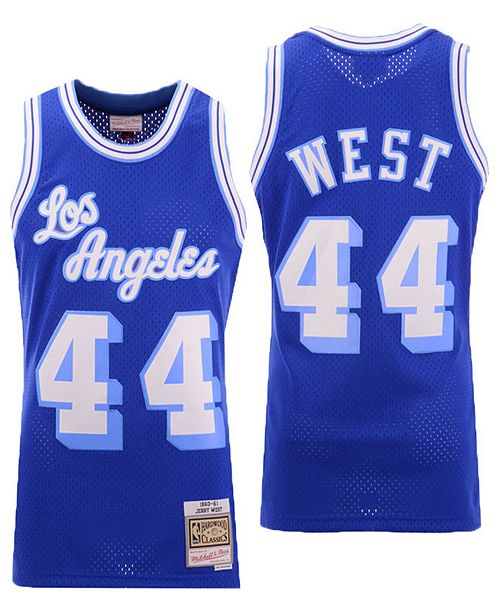 9fbd1d0fe8b ... Swingman Jersey  Mitchell   Ness Men s Jerry West Los Angeles Lakers  Hardwood Classic Swingman ...