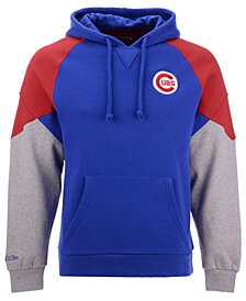 Mitchell & Ness Men's Chicago Cubs Trading Block Hoodie
