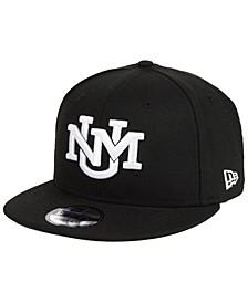 New Mexico Lobos Black White Fashion 9FIFTY Snapback Cap