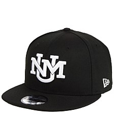 New Era New Mexico Lobos Black White Fashion 9FIFTY Snapback Cap