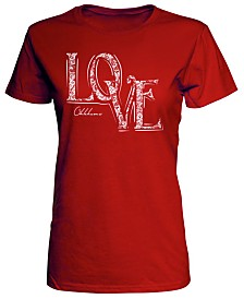J America Women's Oklahoma Sooners Lace Love T-Shirt