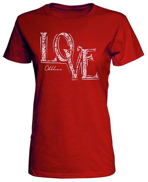 J America Women's Oklahoma Sooners Lace Love T-Shirt