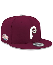 best website 47014 3c881 New Era Philadelphia Phillies 2 Tone Link Cooperstown 9FIFTY Snapback Cap