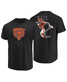 Majestic Men's Khalil Mack Chicago Bears Notorious Player T-Shirt