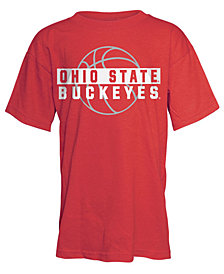 J America Ohio State Buckeyes Basketball Shadow T-Shirt, Big Boys (8-20)