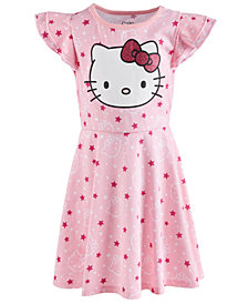Hello Kitty Little Girls Printed Dress