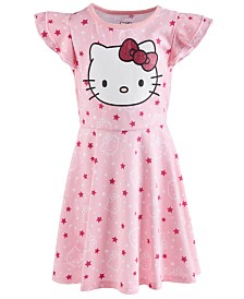 Hello Kitty Toddler Girls Printed Dress
