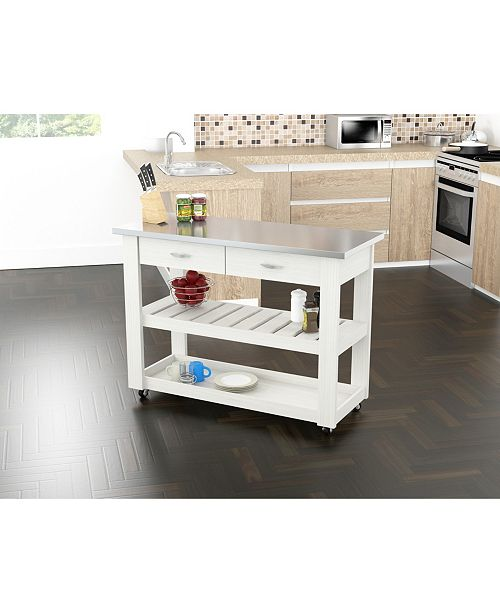 Inval America Kitchen Cart