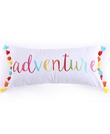"Levtex Home Mayla Adventure Tassels 12"" x 24"" Pillow"