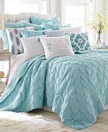 Home Spa Pintuck Twin Quilt Set