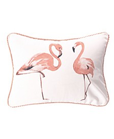 Home Mina Flamingos Pillow