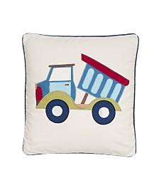 Levtex Home Trucks Applique Pillow