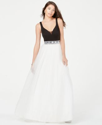 Dark-Gray JCPenney Prom Dresses