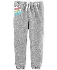 Carter's Little Girls Dream Graphic Pajama Pants