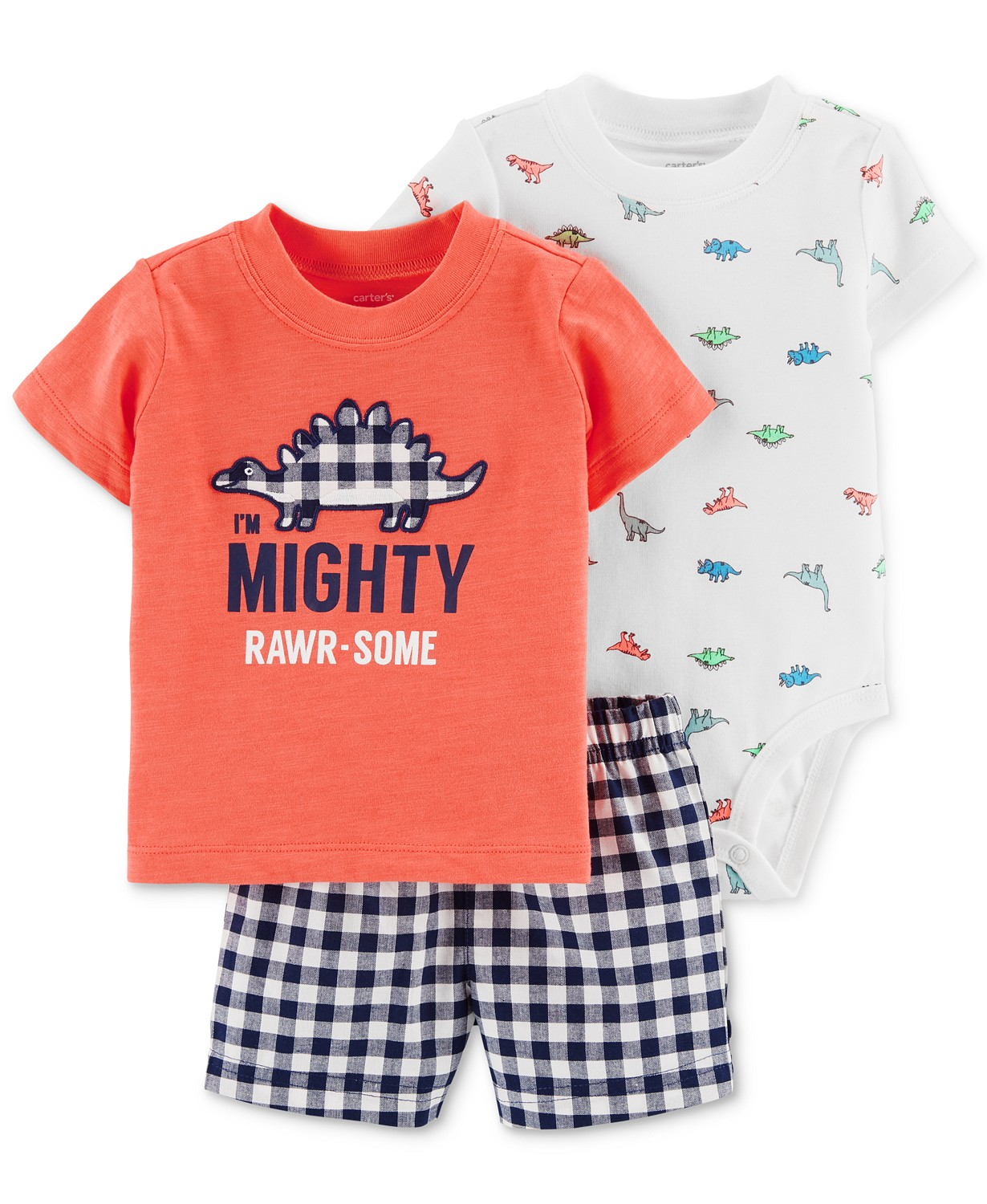 9907c83af MACY'S-Carter's Baby Boys 3-Pc. Dino-P..
