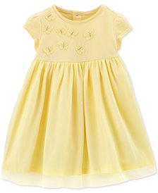 Carter's Baby Girls Embroidered Butterflies Tutu Dress