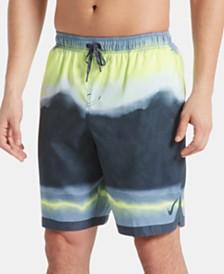 """Nike Men's Optic Halo Horizon Colorblocked 9"""" Swim Trunks"""