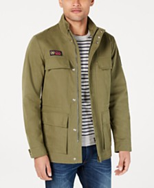 Brooks Brothers Red Fleece Men's Red Fleece Water-Repellent Field Coat
