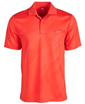 aa502abf Attack Life by Greg Norman Men's Embossed Logo Polo