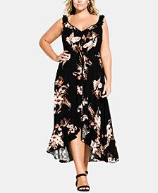 City Chic Trendy Plus Size Seville Maxi Dress